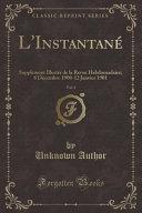 L'Instantané, Vol. 4