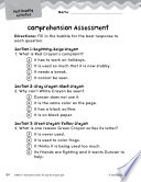 The Day The Crayons Quit Comprehension Assessment Book