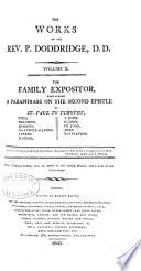 The Works of the Rev. P. Doddridge
