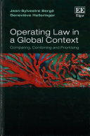 Operating Law in a Global Context Book