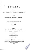 Journal of the General Conference of the Methodist Episcopal Church Book PDF