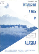 Establishing a Farm in Alaska