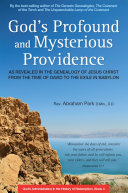 God's Profound and Mysterious Providence Pdf/ePub eBook