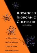 Advanced inorganic chemistry.