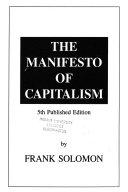 The Manifesto of Capitalism
