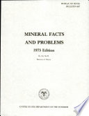 Mineral Facts and Problems