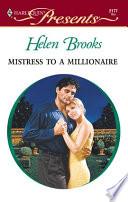 Mistress to a Millionaire Book PDF