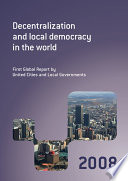 Decentralization And Local Democracy In The World Book