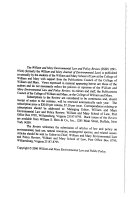 William And Mary Environmental Law And Policy Review