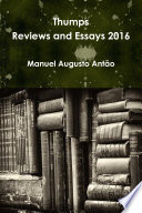 Thumps   Reviews and Essays 2016 Book