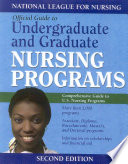 Official Guide to Undergraduate and Graduate Nursing Programs