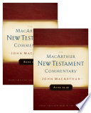 Acts 1 28 Macarthur New Testament Commentary Two Volume Set