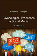 Psychological Processes In Social Media Book PDF