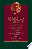 The Marcus Garvey and Universal Negro Improvement Association Papers, Vol. X