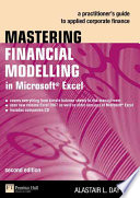 Mastering Financial Modelling in Microsoft Excel Book