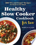 Healthy Slow Cooker Cookbook for Two