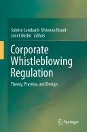 Corporate Whistleblowing Regulation