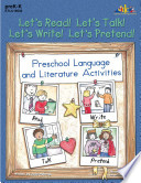 Let s Read  Let s Talk  Let s Write  Let s Pretend   ENHANCED eBook