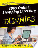 2005 Online Shopping Directory For Dummies