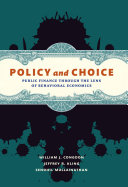 Policy and Choice Pdf/ePub eBook