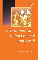 Environmental Radiochemical Analysis II Pdf