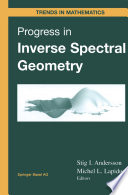 Progress in Inverse Spectral Geometry Book