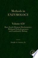 Rare earth element biochemistry  Methanol dehydrogenases and lanthanide biology