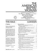 The American Baptist Woman
