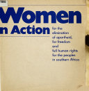 Women in Action for the Elimination of Apartheid  for Freedom and Full Human Rights for the Peoples in Southern Africa Book