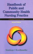 Handbook of Public and Community Health Nursing Practice Book