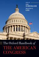The Oxford Handbook of the American Congress Pdf/ePub eBook