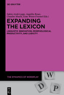 Expanding the Lexicon Pdf/ePub eBook