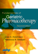 Fundamentals Of Geriatric Pharmacotherapy Book PDF