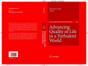 Advancing Quality of Life in a Turbulent World