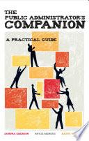 The Public Administrator S Companion