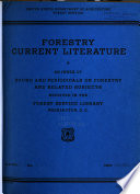 Forestry Current Literature