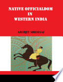 Native Officialdom In Western India