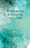 Comparative Literature in Canada Book