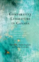 Comparative Literature in Canada