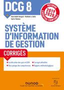 Pdf DCG 8 - Système d'information de gestion - Corrigés Telecharger