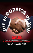 Pdf The Negotiator in You: Sales