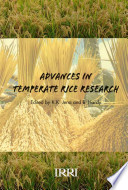 Advances in Temperate Rice Research