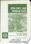Open space Land Program Guide
