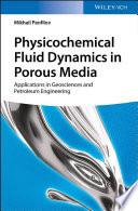 Physicochemical Fluid Dynamics In Porous Media Book PDF