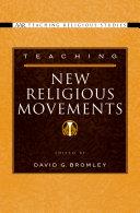 Teaching New Religious Movements