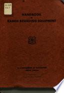 Handbook of range reseeding equipment Book