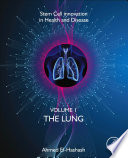 Stem Cell Innovation in Health   Disease  The Lung  Volume 2