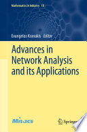 Advances in Network Analysis and its Applications Book
