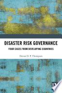 Disaster Risk Governance