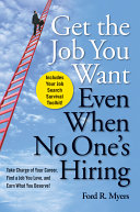 Get The Job You Want, Even When No One's Hiring Pdf/ePub eBook
